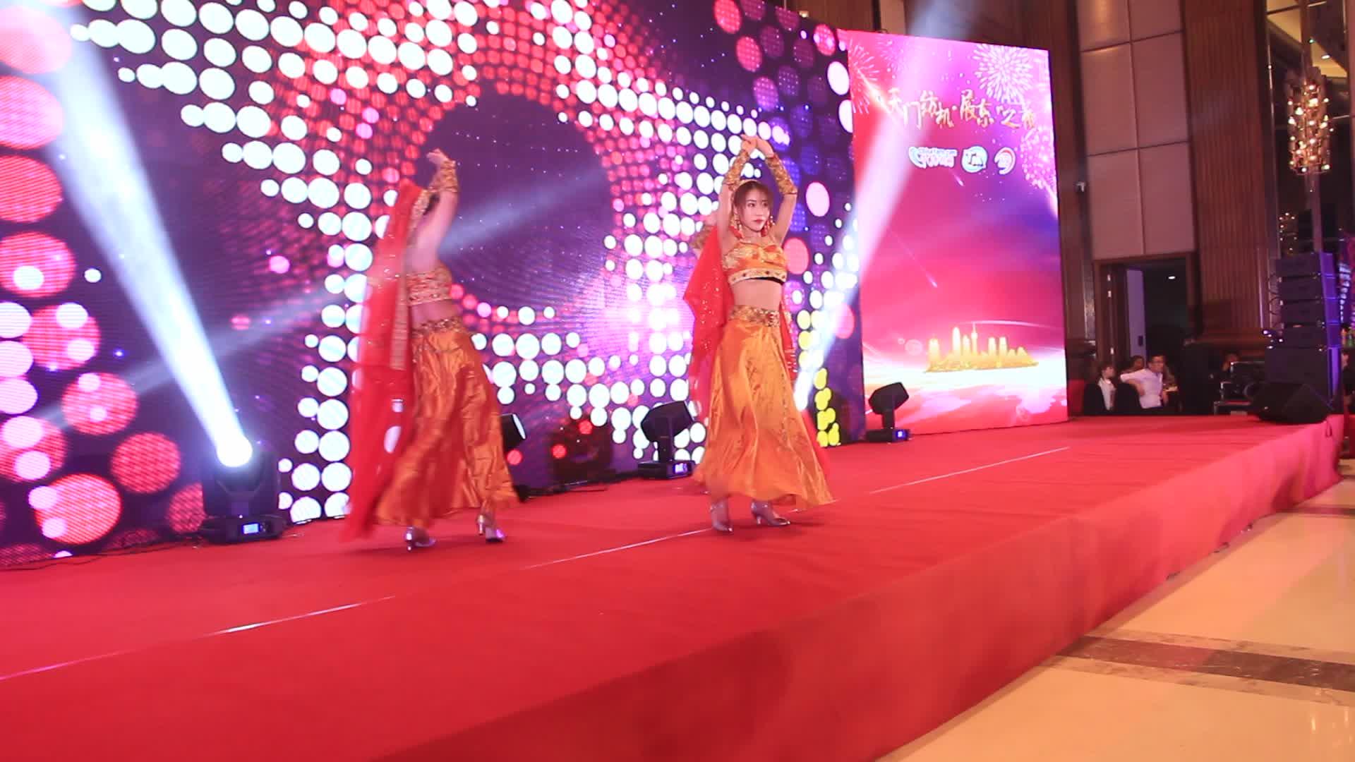 2018第四届全国纺纱技术创新大会晚宴表演片段1 (68播放)